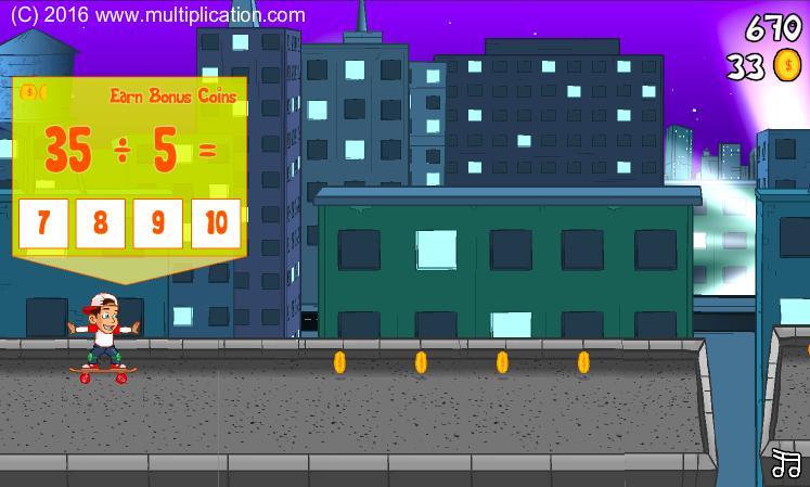 Gameplay screenshot of Rooftop Ride.